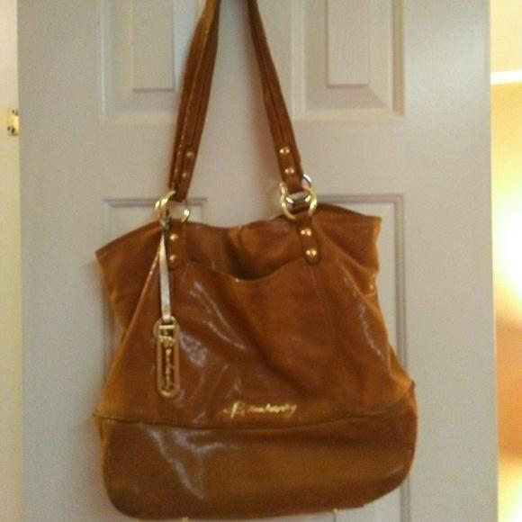 b. makowsky Handbags - B. Makowsky Lizard Embossed Leather Hand Bag